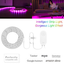 Yeelight YLDD04YL LED Strips for xiaomi mijia WIFI App phone Connected RGB Intelligent Strip Light led lights for coffee shop(China)