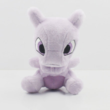 5Pcs Lot 14cm Pokemon Mewtwo Plush Doll Toys Stuffed Animal Plush Toy Gift for Baby Kids