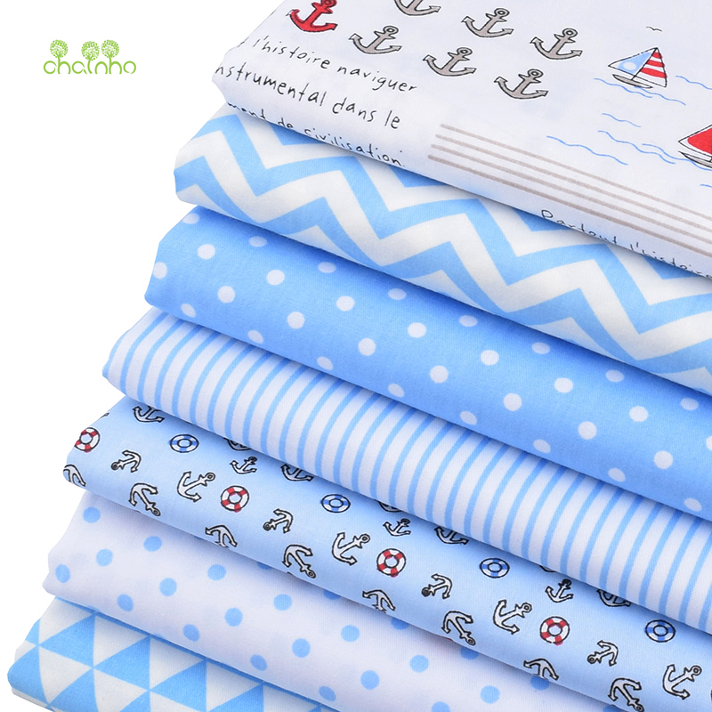 Chainho print twill cotton fabric for diy quilting sewing for Children s material sewing