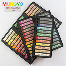 MUNGYO 12/24/36/48 colors Soft toner ally  soft pastel stick pen coloring crayons MPV  Professional painting sketch art