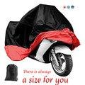 Todo el Tamaño Impermeable Transpirable Capa de Lluvia Cubiertas de Motocicleta Vespa de La Motocicleta Al Aire Libre UV Cubierta Protectora para toda la motocicleta