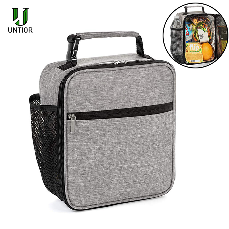 UNTIOR Reusable Insulated Lunch Box Portable Handle Leakproof Bento Box For Kids And Adults Lunch Box Kitchen Lunch Bag Food Box|Lunch Boxes| |  - title=