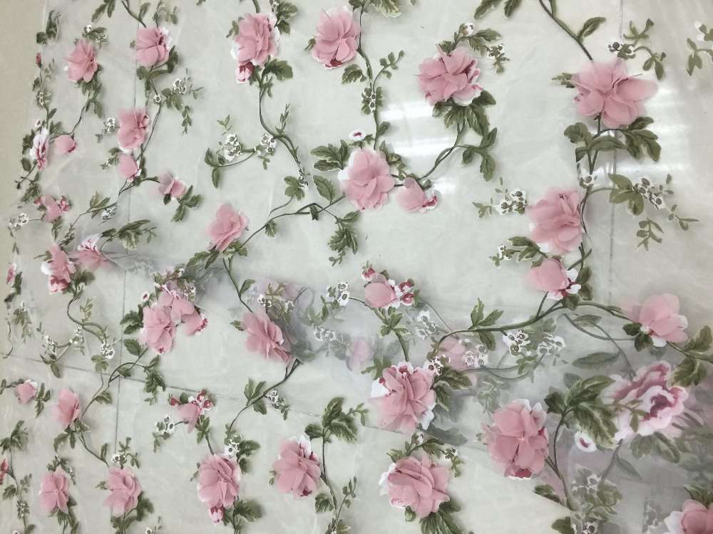 Mesh lacefabricssequins3d floral embroideryhandmadedusty pink mesh lacefabricssequins3d floral embroideryhandmadedusty pink flowersmall flowersorganza in lace from home garden on aliexpress alibaba group mightylinksfo
