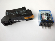Hot! MY2NJ intermediate relay AC with contact capacity 5A 250V and DC 30V 8 Pin coil rated  6 to 240V 220V