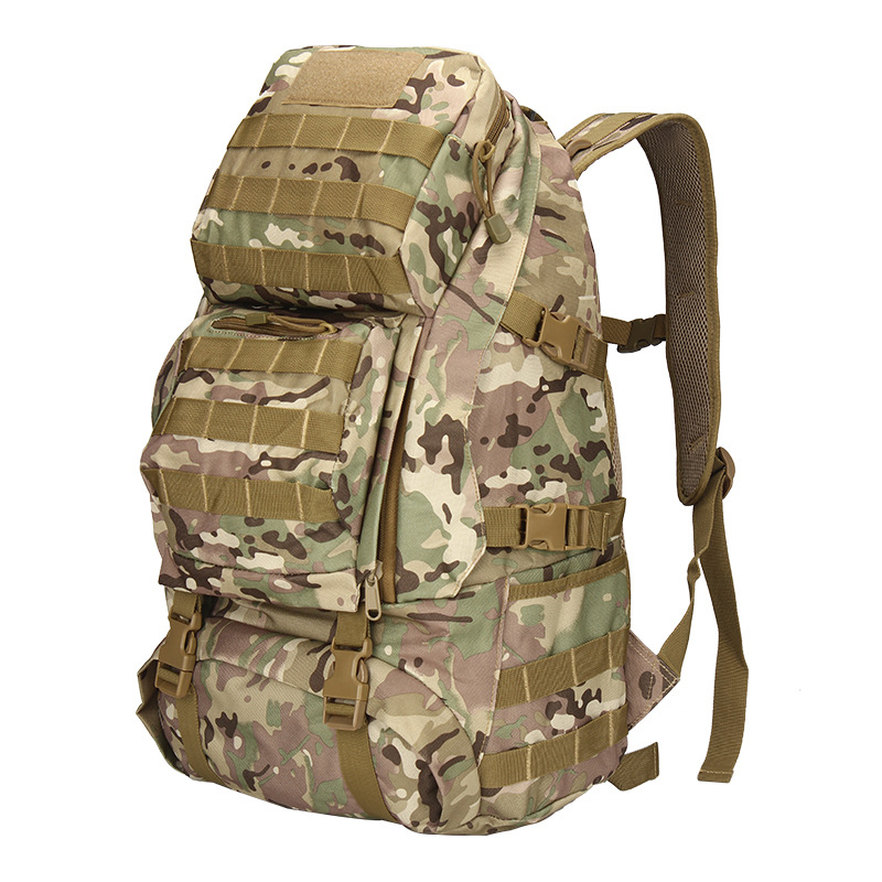 Men Backpack Heavy-Duty Rucksack Travel Large-Capacity Camouflage Bag