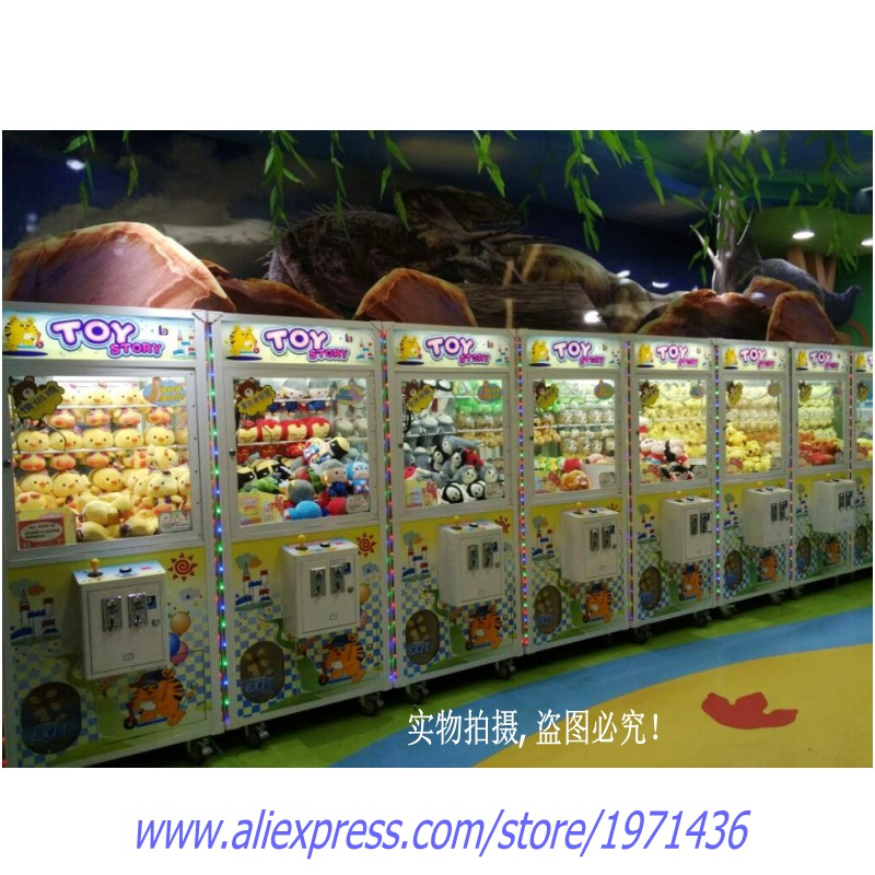 Malaysia Singapore Commercial Claw Cranes Game Machine For Shopping MallsMalaysia Singapore Commercial Claw Cranes Game Machine For Shopping Malls