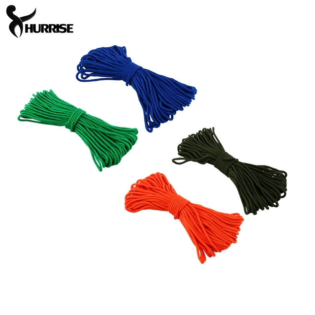New Durable 4mm Nylon C&ing Tent Rope Awning Tarp Line Rope Reflective Braided Rope Tent Tied  sc 1 st  AliExpress.com & New Durable 4mm Nylon Camping Tent Rope Awning Tarp Line Rope ...