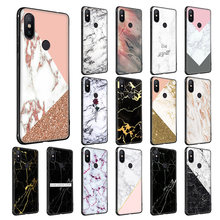 WEBBEDEPP Gold Marble Soft Silicone Case for Xiaomi Redmi Note 7 6 6A 5 4 4X 4A 5 S2 Plus Pro Lite for Redmi Go(China)