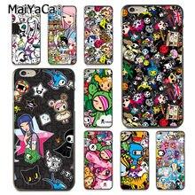 86c2cc0cfc MaiYaCa Japan Tokidoki Japanese Colored Drawing black soft tpu phone Case  for iPhone 8 7 6