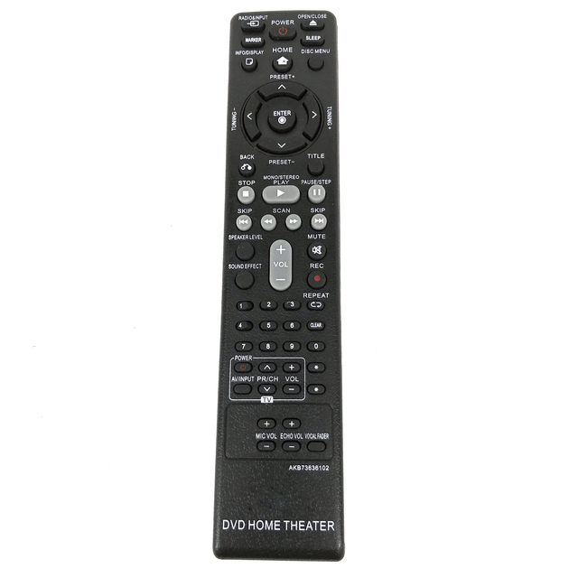 Nieuwe Afstandsbediening AKB73636102 Voor Lg Dvd Home Theater AKB37026852 DH4130S HT304 HT305 HT532 HT805 HT806 HT906