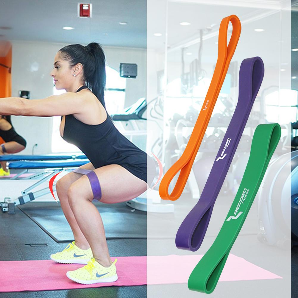 Latex Gym Fitness Equipment Strength Training Resistance Bands Yoga Tension Rubber Loops Sport Training Equipment
