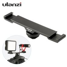 Ulanzi TP серия PT-3 адаптер для холодного башмака Vlogging видео микрофон удлинитель кронштейн Vlog аксессуар для sony видео производитель
