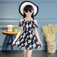 Children Print Dress Summer Toddler Girl Dresses Princess Infantil Next Brand Kids Dress Girls Clothes Wedding