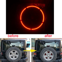 For Jeeps Light Accessories 3rd Spare Tire Brake Light LED Ring for 97 17 Jeep Wrangler JK TJ LJ YJ CJ