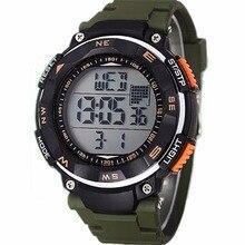 Marque New Summer Style Relojes garçon hommes étanche Relogio montre de sport grand cadran militaire montre numérique