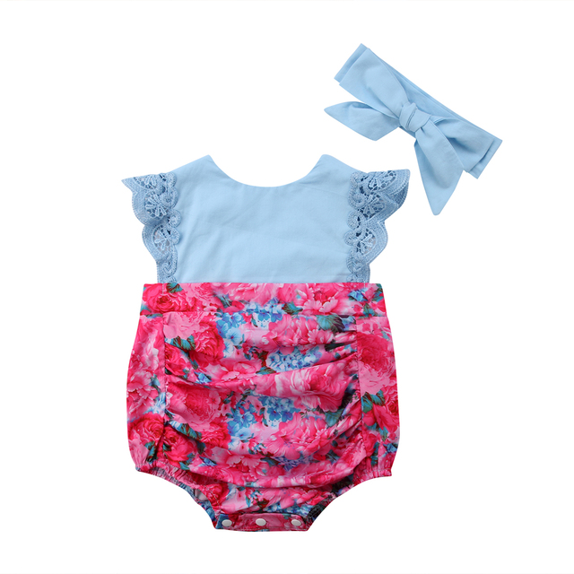 4bc3ae871 Family Sisters Matching Toddler Kid Baby Girl Sister Summer Floral ...