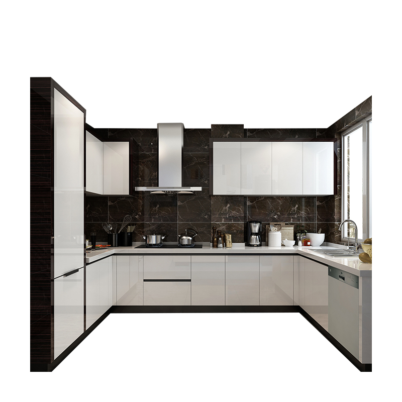 US $1699.0 |Factory direct selling modern modular kitchen cabinet with easy  installation-in Kitchen Cabinets from Home Improvement on AliExpress