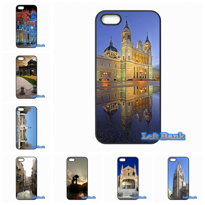 Madrid Capital of Spain Capa Phone Cases Cover For Apple iPhone 4 4S 5 5C SE 6 6S 7 Plus 4.7 5.5 iPod Touch 4 5 6