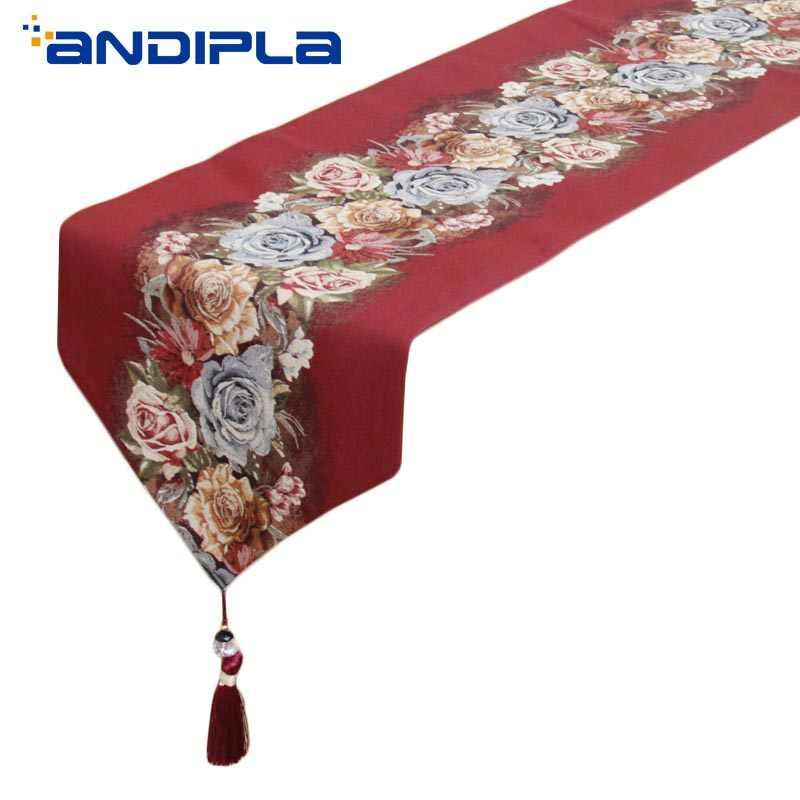 Современная жаккардовая скатерть в китайском стиле, офисный кофейный столик для гостиной, коврик для чая, торжественная скатерть, покрывало для отеля, домашний декор
