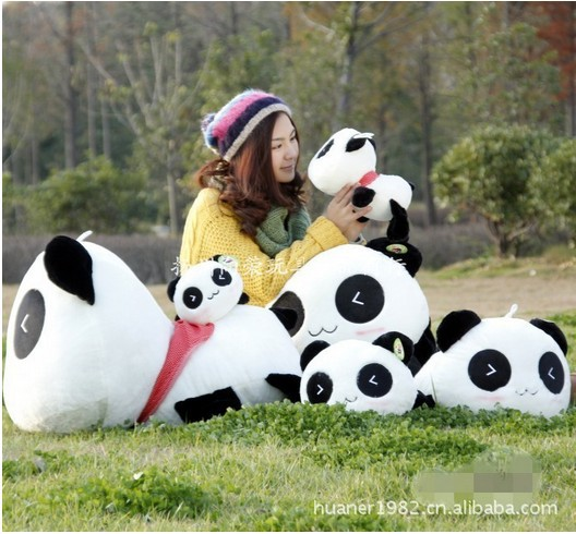 70cm-High quality hot sale Panda plush toy doll stuffed toy doll gift giant panda stuffed animal free shipping купить