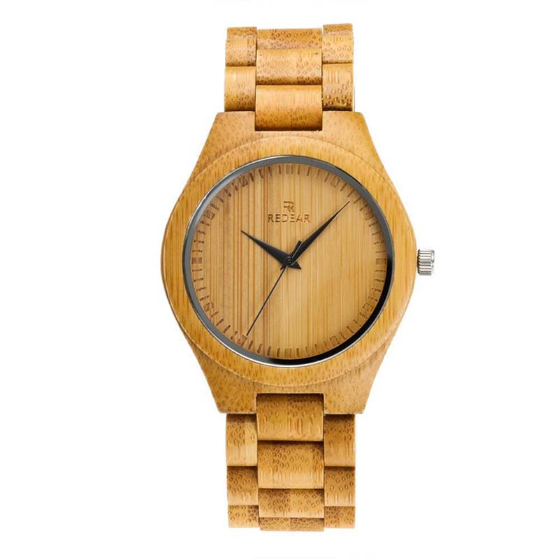 Couple Watches Bamboo Wood Creative Casual Fashion Sale Quartz Men's Simple