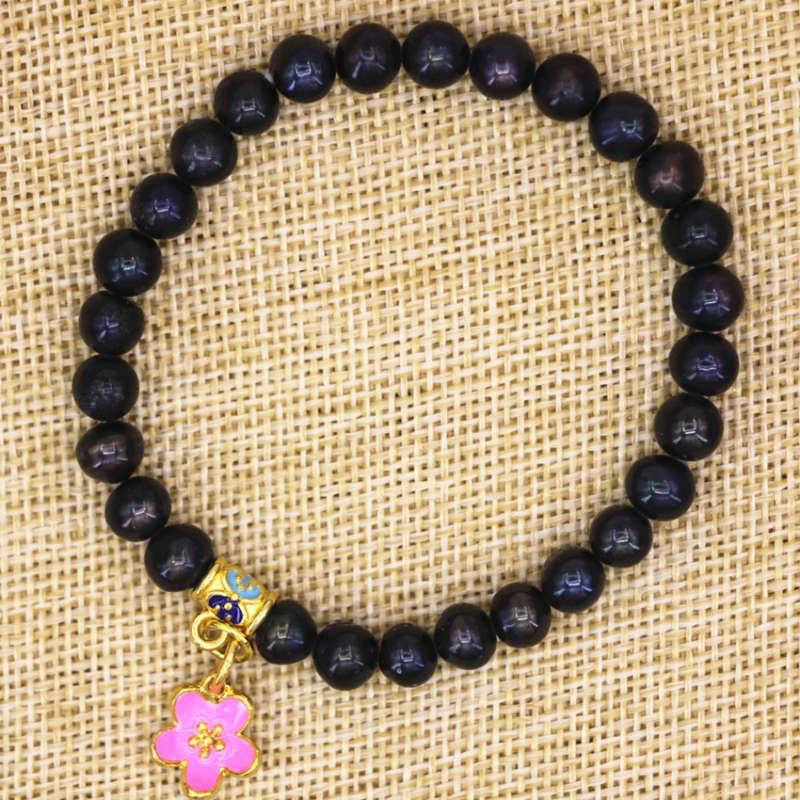 Hommes Femmes Bracelet Matte Black Onyx Oeil de Tigre Argent Sterling Bouddha Fermoir 146
