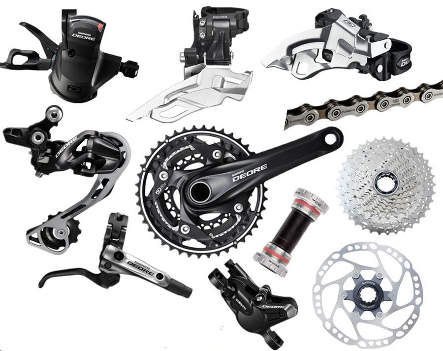 Brake Service Coupons >> SHIMANO DEORE M610 3x10S 30 Speed Groupset With M6000 M615 ...
