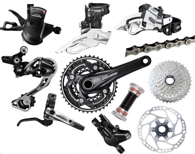 d3cbfca0842 SHIMANO DEORE M610 3x10S 30 Speed Groupset With M6000 M615 Hydraulic Disc  Brake MTB Mountain Bike