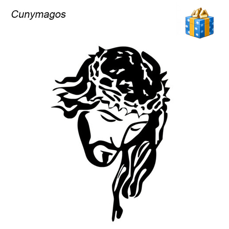 car decoration sticker jesus christ god fashion vinyl car styling stickers decals creative car sticker
