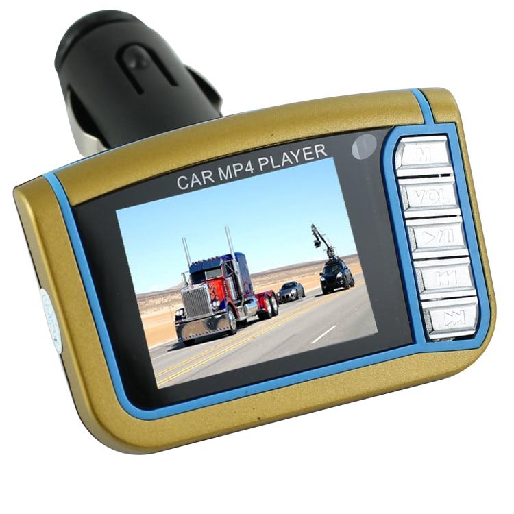 """Trasmettitori Fm Siparnuo Car Mp3 Player 1.8 """"Scheda SD MMC LCD con Trasmettitore Fm Mp4 Trasmettitore Lettori Mp3 Con Ingresso USB"""