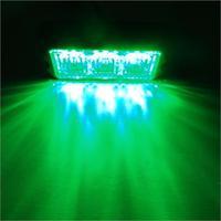 CYAN SOIL BAY 3W 3 LED Car Auto Flashing Strobe Emergency Warning Light Lamp 12V 24V