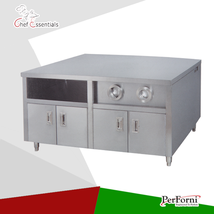 PKJG-WS12 Fast Food Equipment for Commercial Center Island fast food leisure fast food equipment stainless steel gas fryer 3l spanish churro maker machine