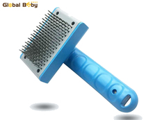 Nový příjezd Pet štětec kočky Puppy hřeben Pes Fur vlasy Grooming Tool Comb