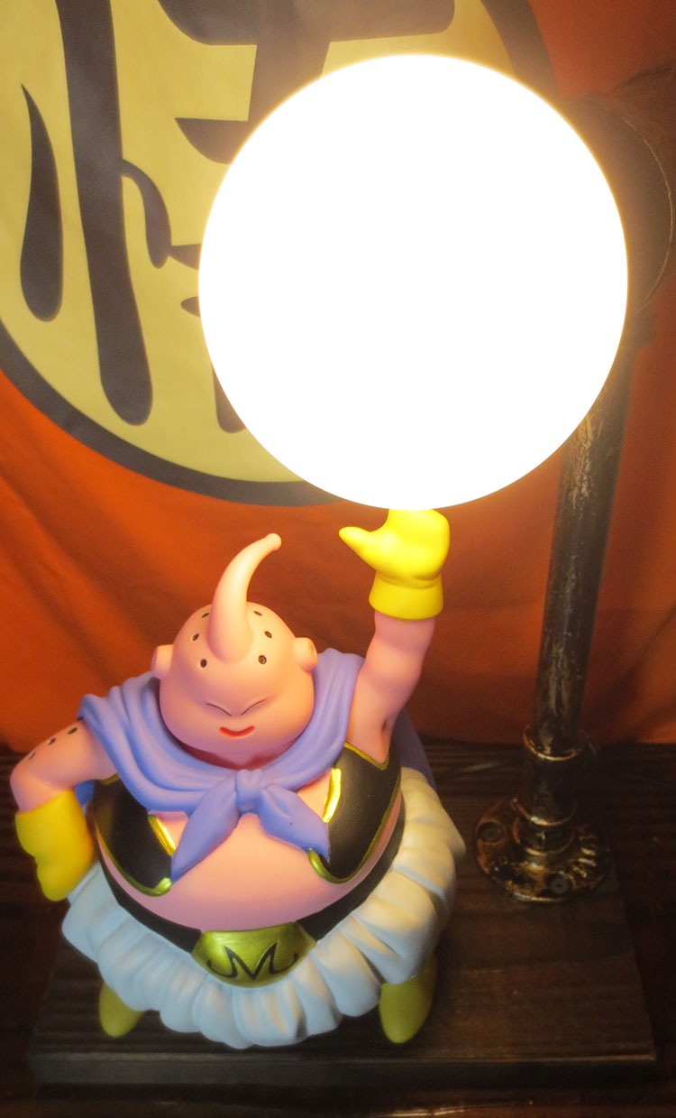 KNL HOBBY Dragon Ball LED desk lamp explosion models hand to do the fat Majin Buu led Eye Spot shipping creative birthday gift knl hobby voyager model pe35866 modern us military mim 104c patriot 1 launch platform basic transformation pieces