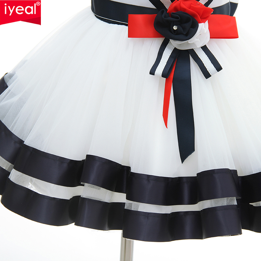 d7008d6456034 US $23.99 35% OFF|IYEAL Newest High end Newborn Christmas Dresses Baby Girl  Birthday Wedding Party Clothes Princess Infant Ball Gown Party Dress-in ...