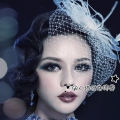 2016 Real Hand Made Hair Clip Hat Cheap Modest Feather Tulle Fashion Ladies Party Hats Sexy New Arrive Hot Sale In Stock