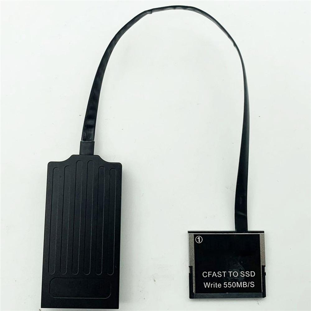 CFAST 2.0 à SSD MSATA carte convertisseur adaptateur pour CANON C300 C200 1DX2 XC10 URSA pour ARRI Amira/ARRI ALEXA MINI caméra pièces-in Pièces de rechange et accessoires from Electronique    1