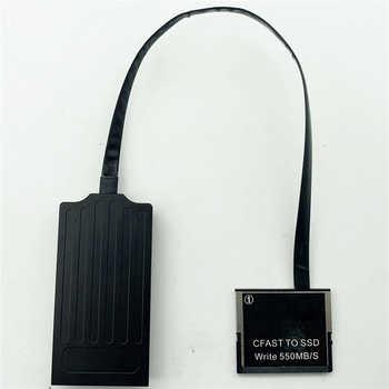 CFAST 2.0 to SSD MSATA Card Converter Adapter for CANON C300 C200 1DX2 XC10 URSA for ARRI Amira / ARRI ALEXA MINI Camera Parts - DISCOUNT ITEM  22 OFF Consumer Electronics