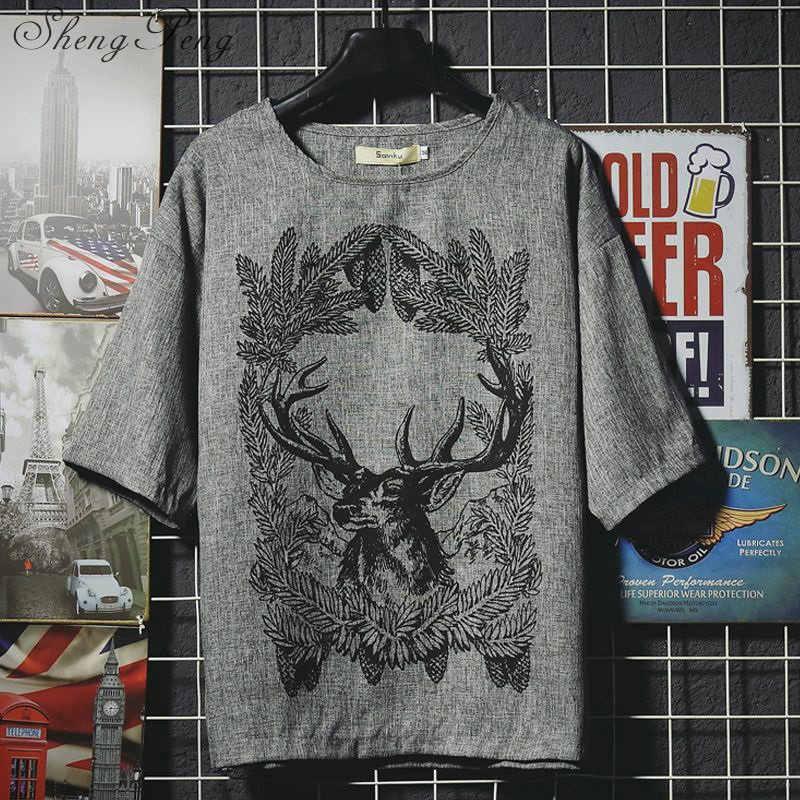 中国の伝統的な男性服シャツ中国メンズtシャツファッション2018男tシャツ夏オリエンタルメンズ服CC240