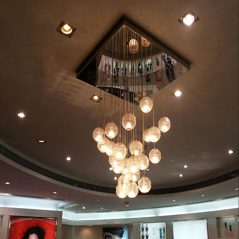 Meteor Shower crystal chandeliers lighting crystal ball chandelier 14 lights Free shipping!