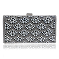 European women imitation pearl women clutch bags messenger fashion evening bag beaded evening bag for wedding