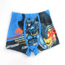 5Pcs Elastic Waist Children Shorts Bat Man Boys Panties All Season Breathable Toddler Shorts Briefs 100%Cotton Kids Underwear