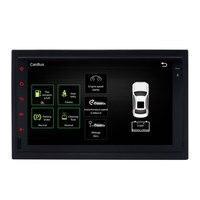 2 Din 새로운 자동차 dvd 플레이어 안드로이드 6.0 더블 스테레오 Gps 네비게이션
