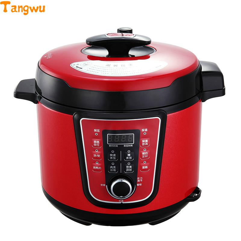 Free shipping 5L electric pressure cooker часы настенные fotoniobox boxpop viii lb 508 35 белый розовый lb 508 35