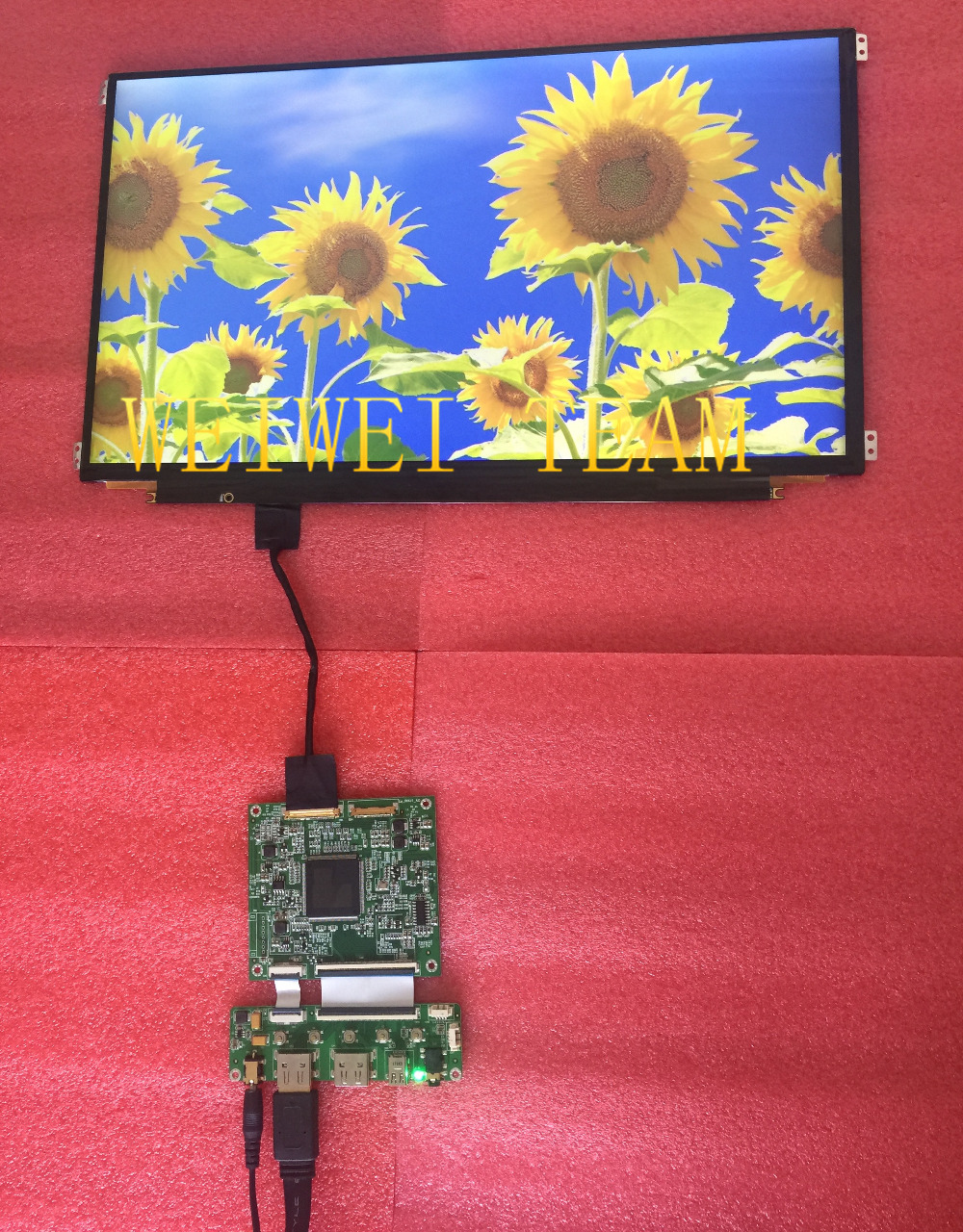 3200*1800 15.6 inch LCM lcd screen panel with HDMI controller board driver board cables for Laptop notebook monitor