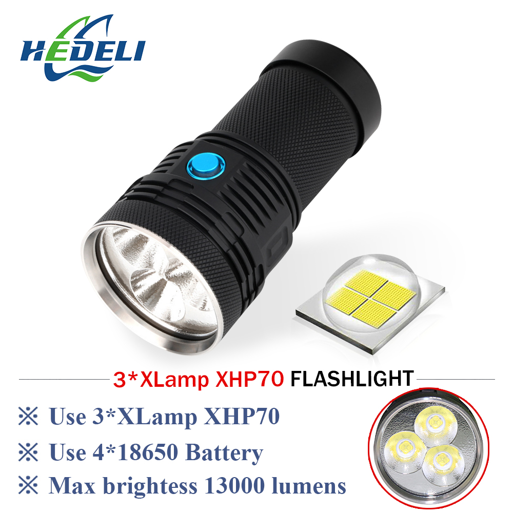 LED glare flashlight CREE XHP70 LED lantern rechargeable photography video light waterproof tactical flashlight 18650 battery 20x 30x 40x 60x industrial binocular stereo microscope repair tool for mobile phone clock repairing pcb inspection
