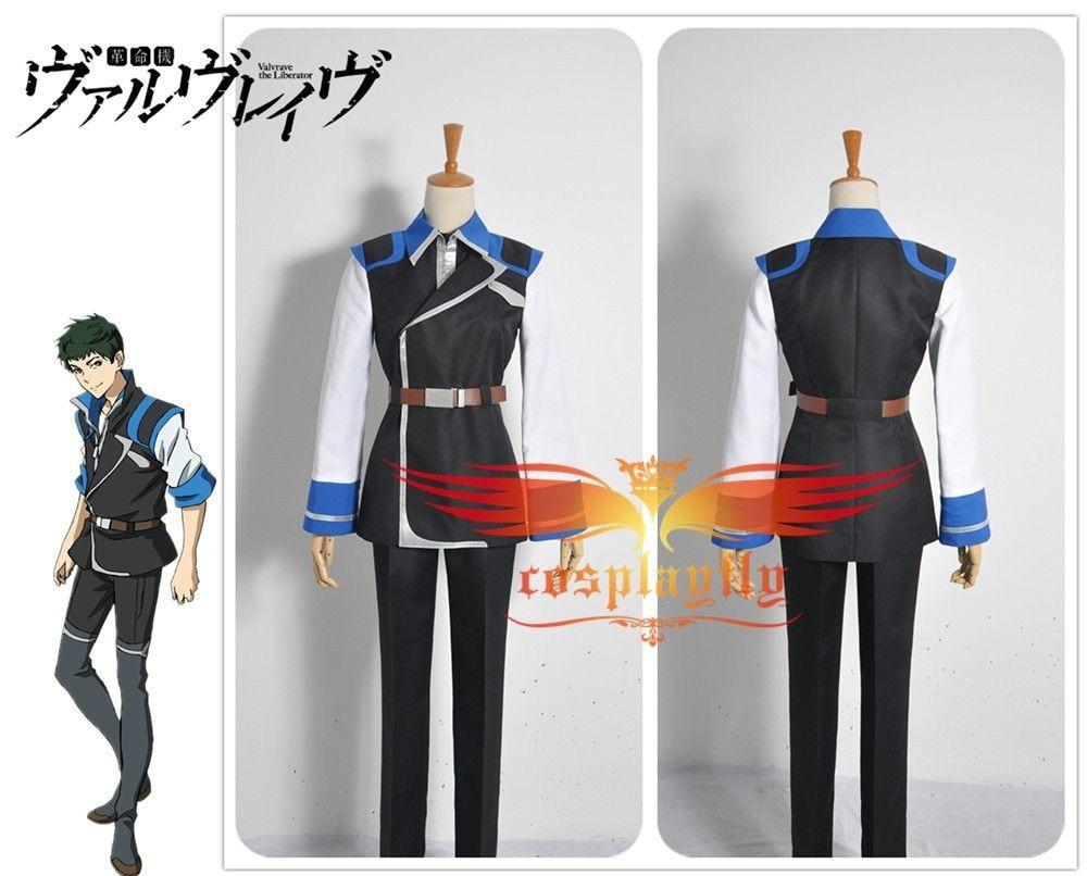 Valvrave the Liberator Season 2 Kyuma Inuzuka Battleframe Army Cosplay Costume custom made Any Size