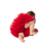 Copo de Nieve rojo Ropa de Navidad Conjuntos para 0-2 años de edad Del Bebé chicas Manga Larga Romper + Tutu Falda Recién Nacido 3 Unids Nueva Ropa de Navidad a