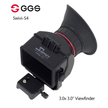 GGS Swivi S4 3.0x 3.0 16:9 LCD Camera Viewfinder for Sony a7 a7R a7S NEX-7 NEX-6 NEX-5R NEX-5T A6000 A5000 DSLR view finder цена