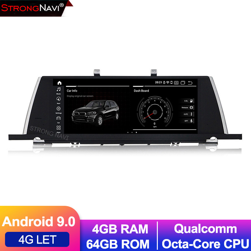 Qualcomm 8 core Android 9.0 4G lte Car dvd player radio stereo for BMW 5 series GT F07 4G RAM 64G ROM GPS navigation WIFI BT